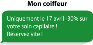 exemple campagne sms 2